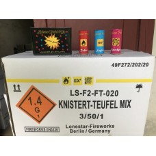 Knister-Teufel Mix Packung 3 Stk.